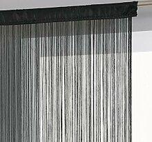 Fadengardine- 90x 200 cm-einfach aufzuhängen-