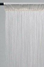 Fadenvorhang Fadengardine ca. 150 x 500 silber