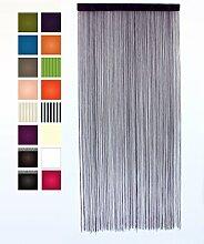 Fadenvorhang Lila 90 x 200 Unifarben