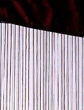 Fadenvorhang Rainbow 90 x 250 cm, Farbe:braun
