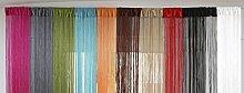 Fadenvorhang UNI 90x245cm - versch. Farben
