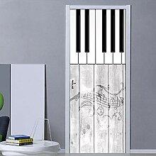 Fadesoue 3D Tür Tapete Selbstklebendes Türfoto