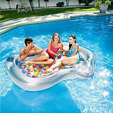FAFY 216cm Aufblasbares Sich Hin- und Herbewegendes Bett PVC Faltbares Bett-riesiges Aufblasbares Pool Schwimmen Strand
