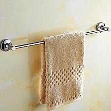 FAFZ-Badetuch Regal 304 Edelstahl Handtuch Stange / Hängestange Badezimmer Einzeln Handtuchhalter, Wandmontage, Badezimmer Zubehör Multifunktions-Handtuchhalter ( größe : 40 cm )
