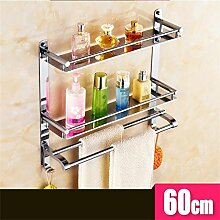 FAFZ Badezimmer Wandregal Racks Edelstahl-Badezimmer Handtuchwärmer Badezimmer Handtuchwärmer WC ( farbe : 6# )