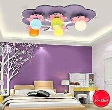 FAFZ Big Tree Kinderzimmer Augenschutz LED Deckenlampe Mädchen Zimmer Schlafzimmer Lampe Kindergarten Kreative Nette Beleuchtung (78 * 58 * 20cm) ( Farbe : LED25W )