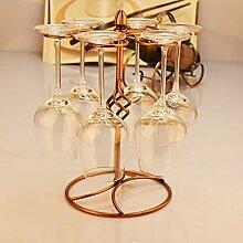 FAFZ-Champagner-Becherhalter, Weinregal Wein Glashalter,Wein Glas Rack, Weinglas Hanger, Stemware Rack,Weinglas Rack Stemware Weinregale ( Farbe : 2 , größe : 23.5*30*17.5cm )