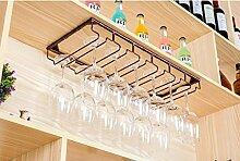 FAFZ-Champagner-Becherhalter, Weinregal Weinglas-Rack, Regal-Wein-Glas-Halter, Weinglas-Rack, Weinglas-Rack, Champagner-Glas-Rack, Glaswaren-Rack Weinregale ( Farbe : B , größe : L30*W25cm )