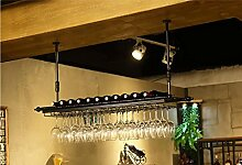 FAFZ-Champagner-Becherhalter, Weinregal Weinglas-Rack, Regal-Wein-Glas-Halter, Weinglas-Rack, Weinglas-Rack, Champagner-Glas-Rack, Glaswaren-Rack Weinregale ( Farbe : B , größe : L60*w30cm )