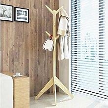 FAFZ-Kleiderhaken Einfache Aufhänger / kreative Schlafzimmer Kleiderständer / Boden hängen Kleider Regal / einfache moderne Multifunktions-Aufhänger Bekleidungsregale ( Farbe : 3* , größe : H170*W60CM )