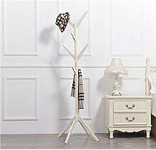 FAFZ-Kleiderhaken Einfache Aufhänger / kreative Schlafzimmer Kleiderständer / Boden hängen Kleider Regal / einfache moderne Multifunktions-Aufhänger Bekleidungsregale ( Farbe : B , größe : 175*45CM )