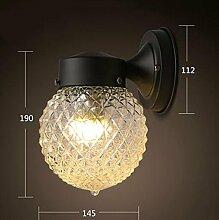 FAFZ-Wandlampe Nordic Schlafzimmer Balkon führte