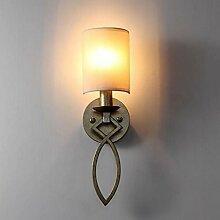 FAFZ Wandleuchte, Schlafzimmer Einzel-Kopfwand Lampe, Wohnzimmer Zimmer Moderne Treppe Gang Wand Lampe, Wohnzimmer Wandleuchte Wandlampe