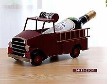 FAFZ Wein-Racks Eisen-Ornamente Kreative Wein-Racks Flaschen-Racks Home Simulation Rotwein Regal Display Stand Weinregale ( Farbe : 10 )