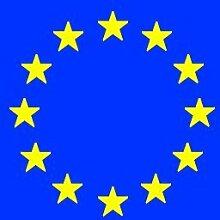 Fahne EUROPA 12 STERNE Flagge, Grösse: ca. 90x150