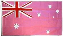 Fahne / Flagge Australien Pink + gratis Sticker,