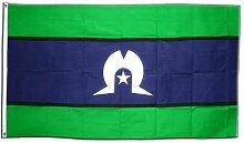 Fahne / Flagge Australien Torres Strait Islands +