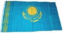 Fahne / Flagge Kasachstan NEU 90 x 150 cm Flaggen