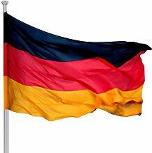 Fahnenmast XXL inkl. Deutschlandfahne ~ 6,2 m