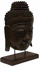 FaHome Buddha Relief ca. 50cm - Kopf Skulptur