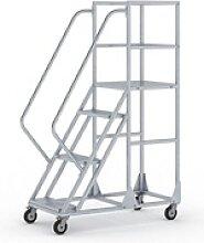 Fahrbare leiter mit plattform - 5 grad, 1,2 m