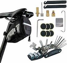 Fahrrad Satteltasche Reparatur Set und Werkzeuge -
