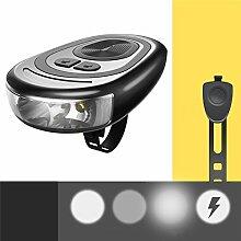 Fahrrad-Vordere LED-Leuchte mit Lautsprecher