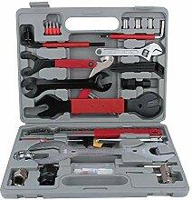 Fahrrad Werkzeug Set, 44tlg Fahrrad-Werkzeugkoffer