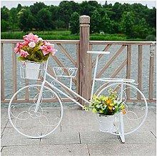 Fahrradrahmen Stil Topfpflanzen, Blumen Balkon