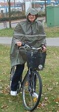 Fahrradregencape oliv
