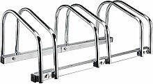Fahrradständer für 3 Fahrräder, Stahl,
