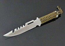 Fahrtenmesser 23 cm Survival Messer mit Scheide -