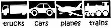 Fahrzeug Wandaufkleber Entfernbare Wandaufkleber