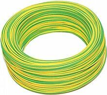 Fahrzeugleitung Farbe gelb/grün.