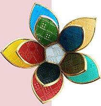 Fair & Fine   Teelichthalter Lotusblume Mehrfarbig