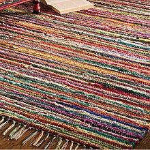 Fair Trade Flickenteppich, handgemacht, aus