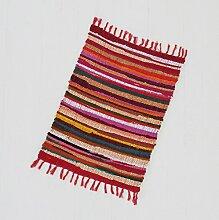 Fair Trade Flickenteppich klein 90 x 60 cm