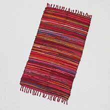 Fair Trade Flickenteppich Mittel 150 x 90 cm