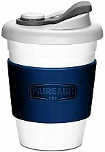 FAIREACH Coffee to Go Becher 340ml / 12oz, Mehrweg