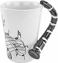 Fairly Odd Novelties Clarinet Novelty Mug Coffee