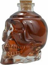 Fairly Odd Novelties Glas Weindekanter Skull