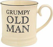 Fairmont & Main Quips and Quotes Becher Grumpy Old Man, cremefarben