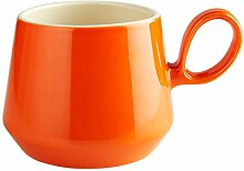 Fairmont & Main Retro Flared tasse, Steingut, Orange