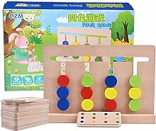 Faironly 4 Farben Logic Spiele Early Education,