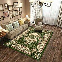 FairOnly Retro Luxus Teppichmatte Antirutschdruck
