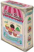Fairy Cakes Cup Cakes Blechdose / Vorratsdose XL