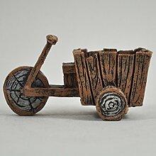 Fairy Garden UK Mini Holz tri-cart Fahrrad Garten Miniatur Home Decor–Elfe Pixie Hobbit Zauberhafte Geschenkidee–Länge: 9cm
