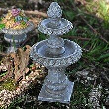 Fairy Garden UK Mini Stein Wasser Brunnen Garten Miniatur Home Decor–Elfe Pixie Hobbit Zauberhafte Geschenkidee–Höhe: 12cm