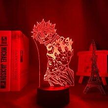 Fairy Tail 3D Lampe Nachtlicht Mood Light