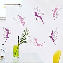 Fairy Wand Aufkleber PVC Home Aufkleber House Vinyl Papier Dekoration Tapete Wohnzimmer Schlafzimmer Küche Kunst Bild DIY Wandmalereien Mädchen Jungen Baby Kinderzimmer Spielzimmer Decor